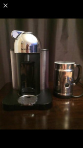 Nespresso Coffee Machine & Milk Frother