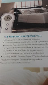 Sleep Number Firmness Control Bed