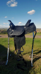Like New Western Saddle, Headstall and Breast Collar