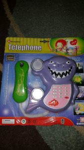 Toy Shark or Turtle Telephone
