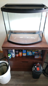 28-Gallon Bowfront Aquarium