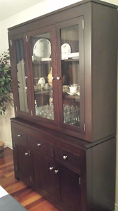 Private sale. Mennonite made dining room set for sale
