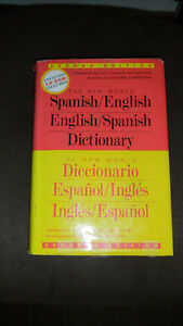 Spanish English Dictionary- Brand New