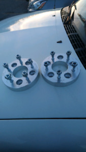 (2) 1 1/4 inch wheel spacer