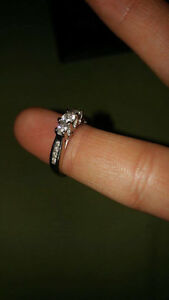 BARELY USED ENGAGEMENT RING