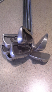 Left Hand Topflite Tour Irons Excellent condition