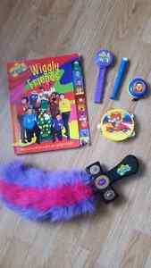 Lot of Wiggles toys!