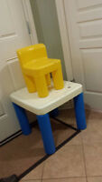 Little Tikes table and 1 chair