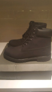 Brand New Timberland Black Classic Boots - Size 10.5