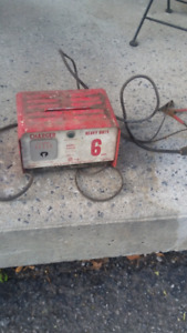 Vintage battery charger 6 amp