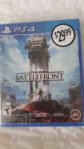Star Wars Battlefront for PS4 - Brand New, Sealed