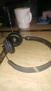 Stereo Headphones Bob Marleys