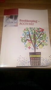Accounting text book for sale