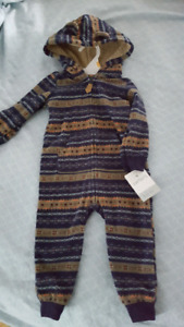 12 month warm one piece outfit. Brand new.