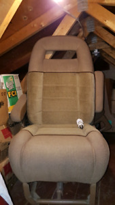 4 Tweed Bucket Seats in excellent shape, no rips or tears