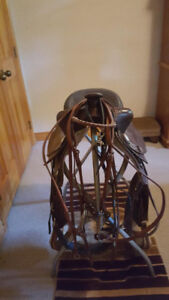 "15"" Western saddles and bridles for sale"