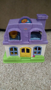 Little People House With Accessories