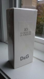 New in Box D & G 10 La Roue de la Fortune 100ml DOLCE GABBANA