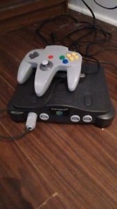 Nintendo 64 with expantion pack