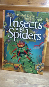 Huge full colour hardcover Spiders & Insects resource