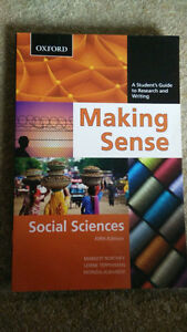 Making Sense: A Student's Guide to Research and Writing Kitchener / Waterloo Kitchener Area image 1