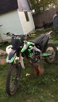 2009 Kx250f monster energy edition
