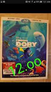 Disney finding dory 12.oo blue ray