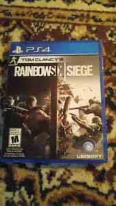 Rainbow Six Siege for PS4 mint condition