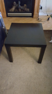 Table Ikea Lack noir