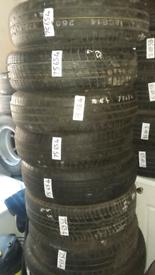 Tyres. Part worn