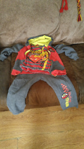 Disney Cars 'Lightning Mcqueen' Sweatsuit (For 4 Year Old)