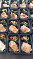traiteur vous ofrre repas santé avec choix glucide