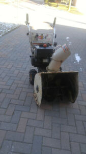 MTD Snowflite GAS Snow  Blower - With Tire Chains