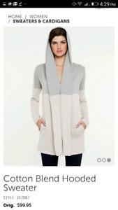 Le Chateau Hoodied Sweater
