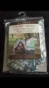 NEW - JJ Cole Car Seat Canopy - Never used