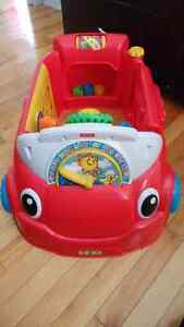 Fisher price laugh and learn crawl around car