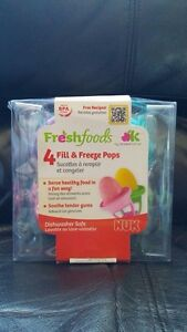 NEW in Package NUK Fill & Freeze Pops - $15