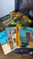 BD - Bandes dessinées - Tintin