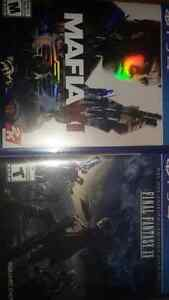 Mafia 3 and final Fantasy xv for ps4 Cambridge Kitchener Area image 1