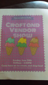Craft and vendor show.