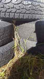 Used Jeep Rims and Tires 235/75/R15
