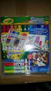 Crayola Pip-Squeaks Washable Markers n Sticker Set