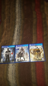 Take home 3 great PS4 games!! or buy individually!