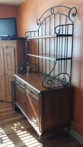 buffet style rustique, campagnard