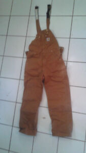 Unused Women's Carhart Overalls