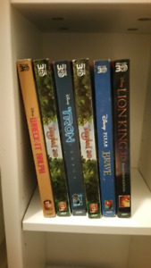 3D Blu-rays for sale