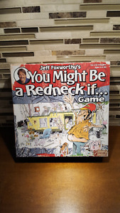 """Jeff Foxworthy's """"You Might Be A Red Neck If..."""" Game  NEW"""
