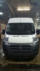 2014 Dodge Promaster Van 2500 159 WB High Roof with Cargo Divide