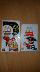 Vintage Rare 1999 McDonald's Fridge Magnets (USA)