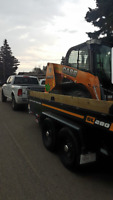 Bobcat Hourly Service (Grading, Excavation, Hauling)